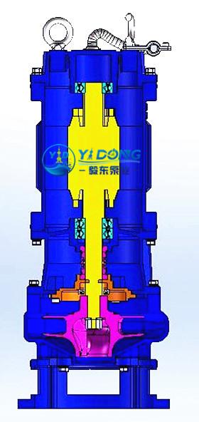 WQ无堵塞排污泵图片