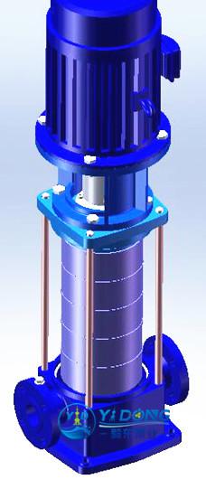 GDL立式多级管道离心泵图片
