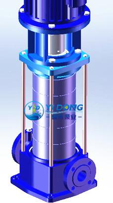 立式多级离心泵效果图