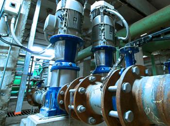 立式多级管道离心泵安装图片